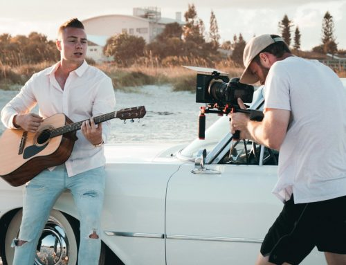 Behind the scene of Purely Blue music video